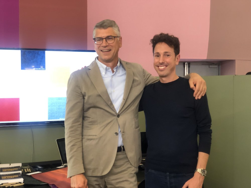 Luca Vignaga Marzotto Lab CEO and Andrea Fiume Bsamply Founder & CEO