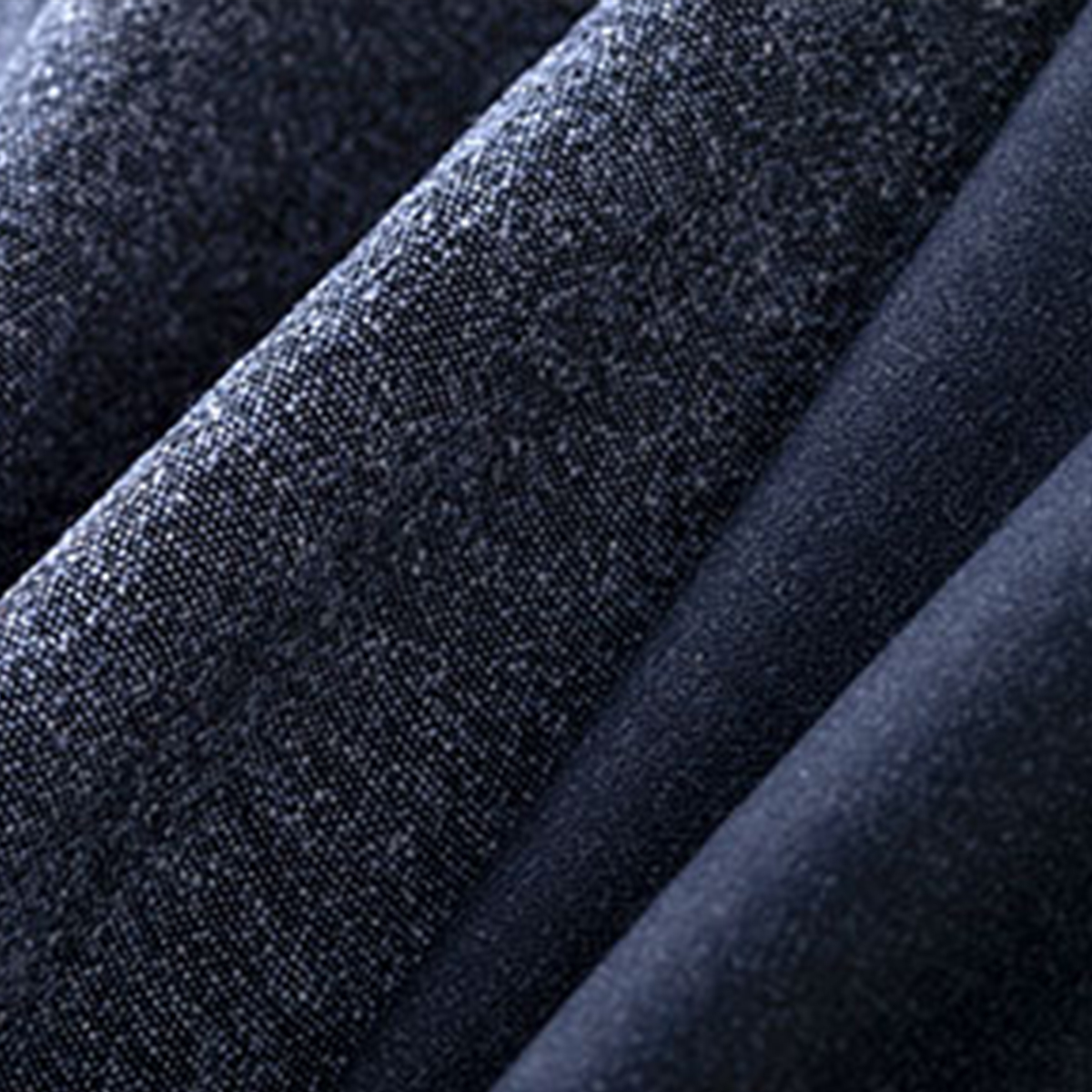 Navy Blue Woven Textile by LARUSMIANI by Clerici Tessuto